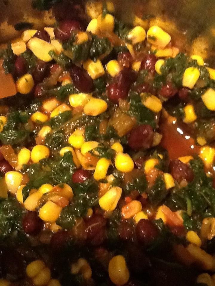 burrito filling ever. Frozen sweet corn, frozen chopped spinach, black ...