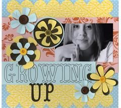 Do you have a little girl that is growing up into a beautiful young lady? Record it in this fun layout!