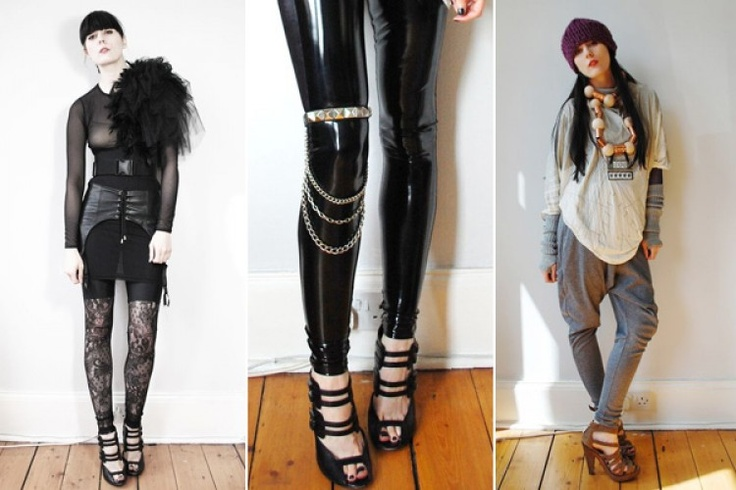 DIY leg chain and shoulder explosion | DIY accessories | Pinterest
