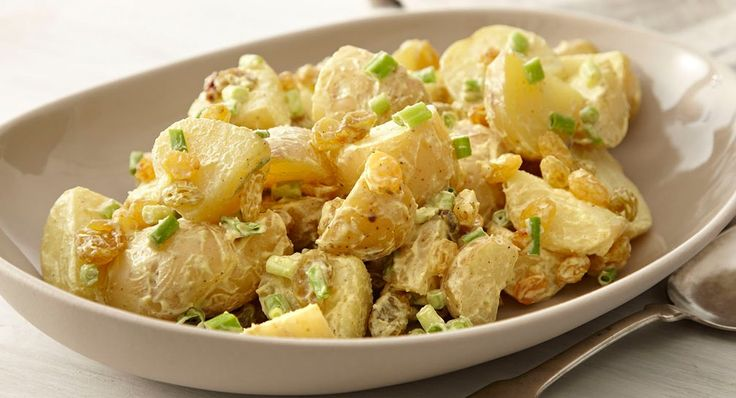 Curried Potato Salad: Change up the flavors of ordinary potato salad ...