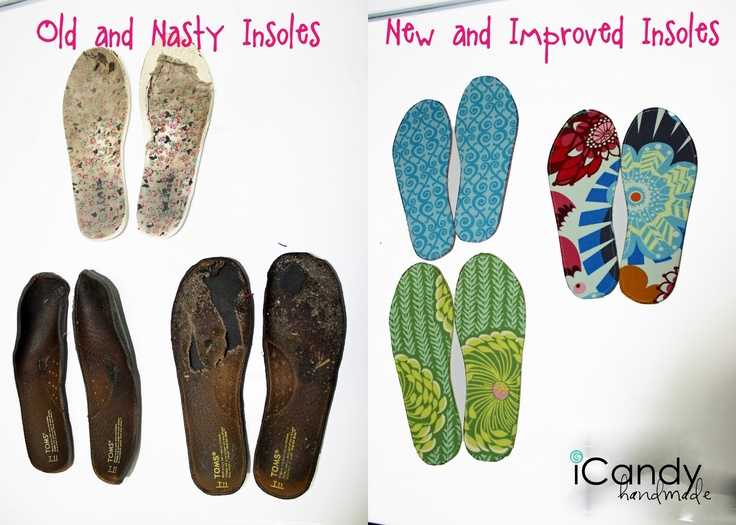 icandy handmade:  New Shoe Insoles