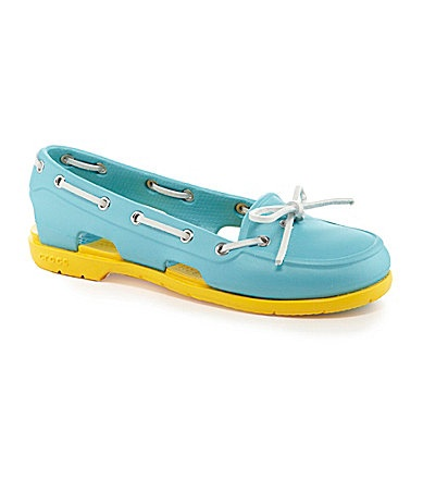 Crocs Womens Boat Shoes...i actually kinda want some of these
