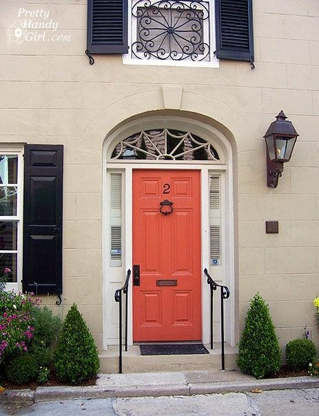 colors for outside except a different but equally effective door color