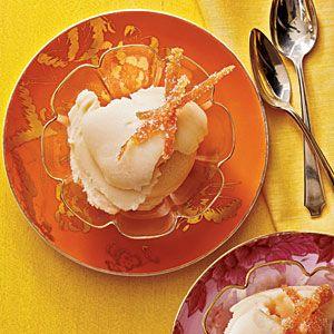 Grapefruit-Buttermilk Sherbet - make with banana instead of buttermilk ...