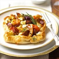 Rustic Winter Vegetable Tarts | Recipes | Pinterest