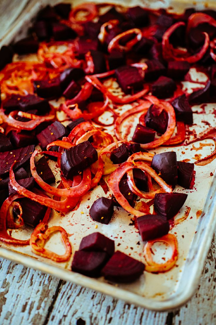 Blood orange and fennel roasted beets. || creeps of wrath