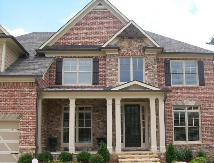 Red brick exterior red brick exteriors pinterest - Exterior house colors with red brick ...
