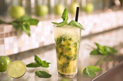 Pineapple Mint Mojito & Pineapple Cosmopolitan
