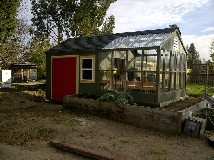 Green house and shed greenhouse pinterest Green house sheds