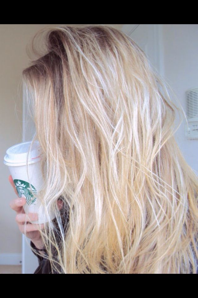 Blonde/ messy/ beach hair | Hair styles | Pinterest