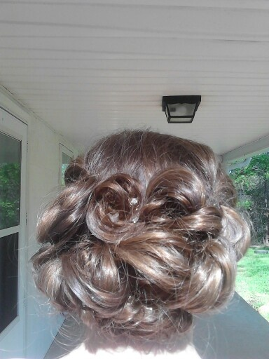 My military ball up-do hairstyle Air Force Ball Pinterest