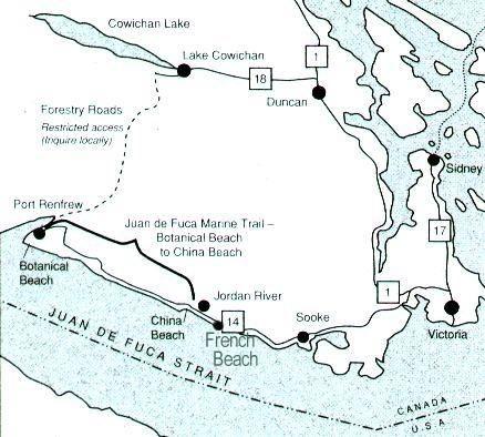 how to get to juan de fuca trail