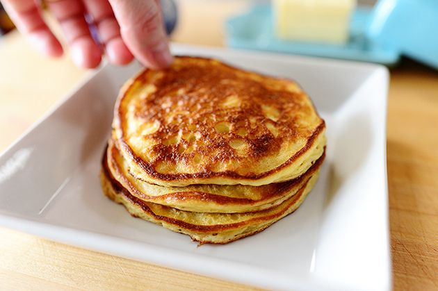 Edna Mae's Sour Cream Pancakes | The Pioneer Woman Cooks | Ree ...