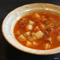 Spicy Potato Soup I | Goooood Food | Pinterest