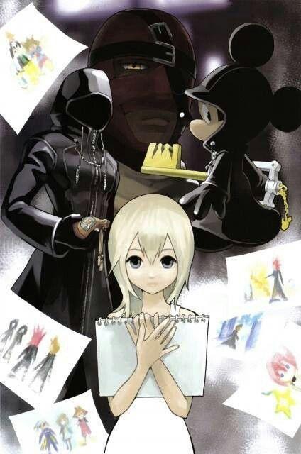 Kingdom Hearts Namine And Kairi Anime Namine   Kingdo...