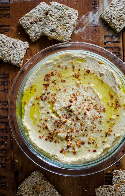 Roasted Garlic Hummus - This recipe turned out perfectly in my Ninja ...