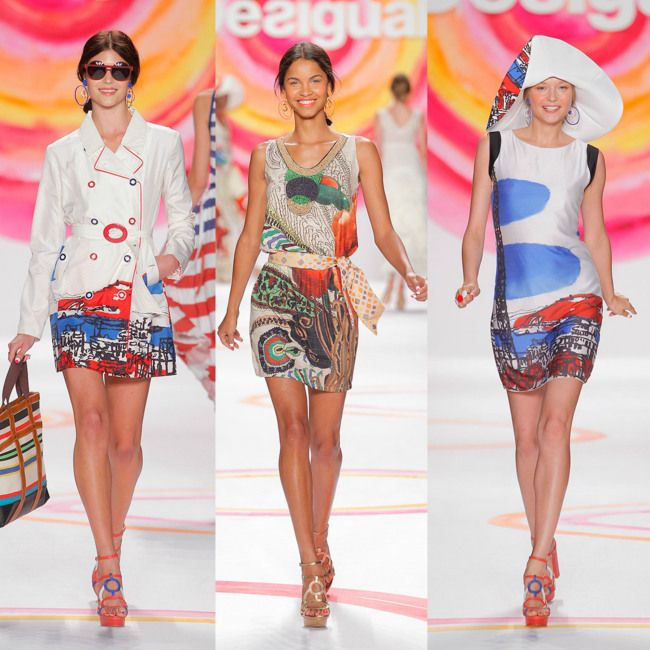 Desigual Fall-Winter 2014 New York Fashion Week http://berrytrendy.com/2014/02/12/new-york-fashion-week-2014/