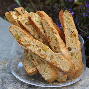 Honey pistachio biscotti | Recipes to try | Pinterest