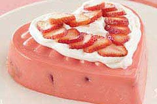 PHILADELPHIA® Sparkling Strawberry Mold recipe. Going to try. Have a ...
