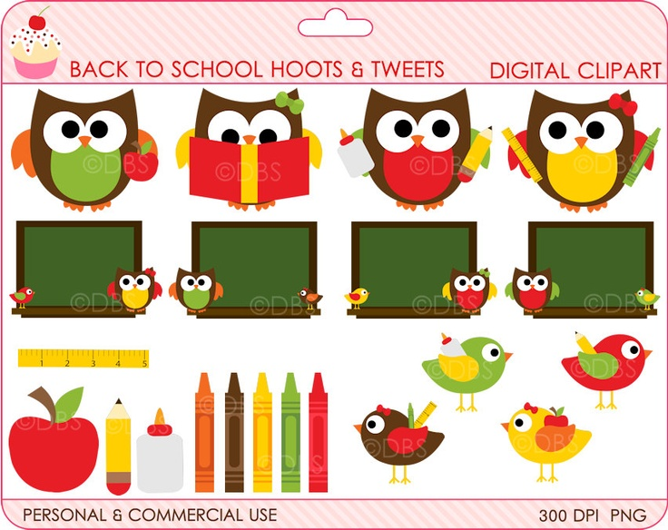 Back To School Clipart For Teachers
