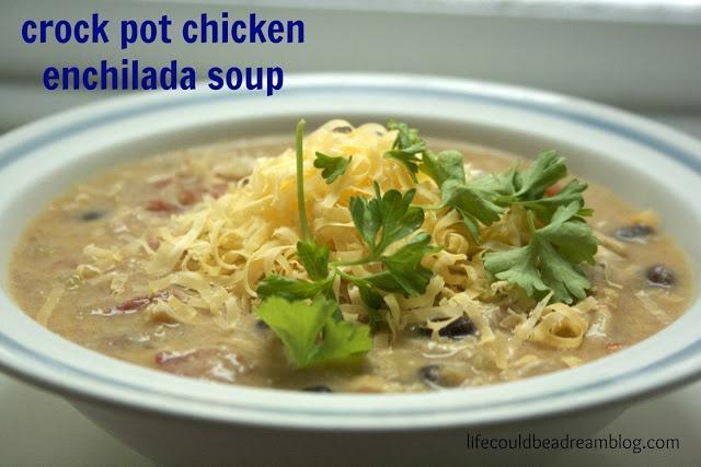 Crock Pot Chicken Enchilada Soup Recipes — Dishmaps