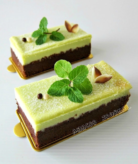 Chocolate Mint Cheesecake | Indulge | Pinterest