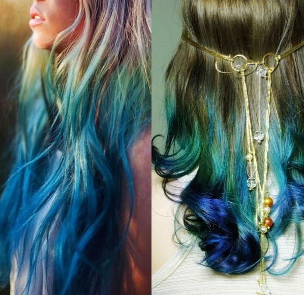 Verde esmeralda lindo cabello pinterest