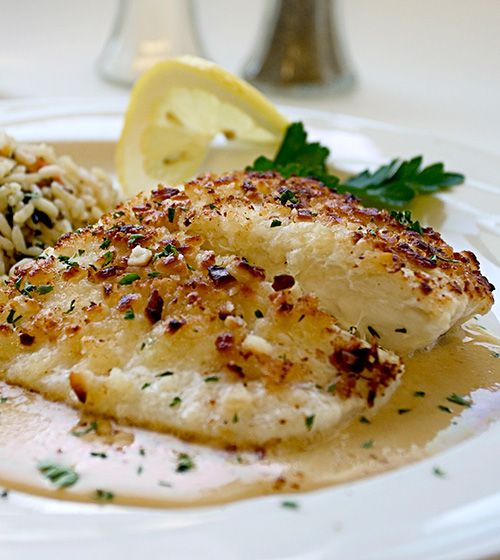 Broiled Tilapia Parmesan - Super easy to make, gluten free and loaded ...