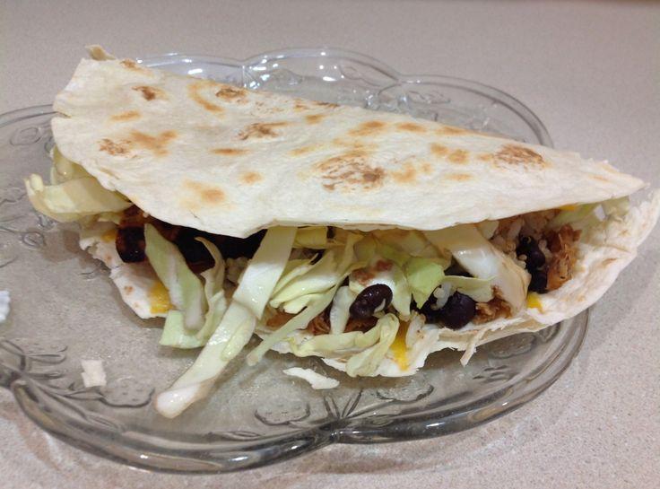 ... Pinch That | Sweet Pulled Pork Quesadillas #recipe #justapinch