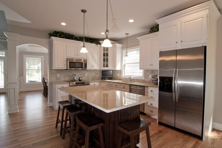 Best White Brown And Grey Kitchen For The Home Pinterest 400 x 300