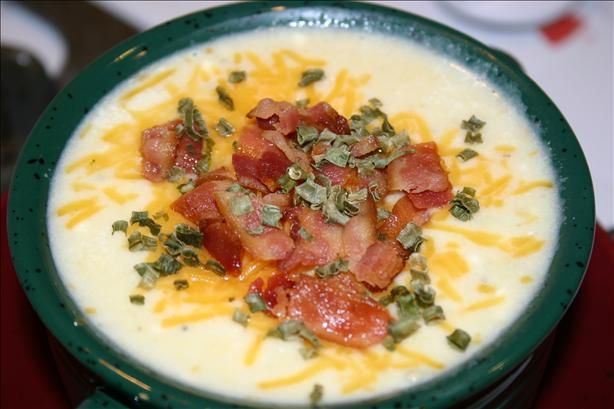Crock Pot Potato Chowder.