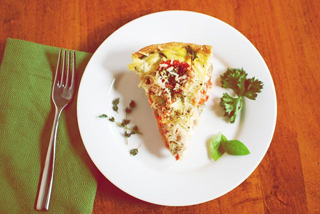 Colleen's French Tomato Tart   I eat & I drink   Pinterest