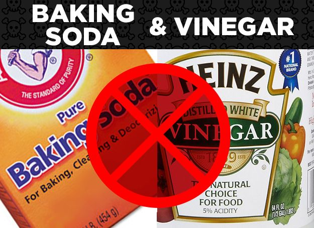 16 common product combinations you should never mix - Things never clean baking soda ...