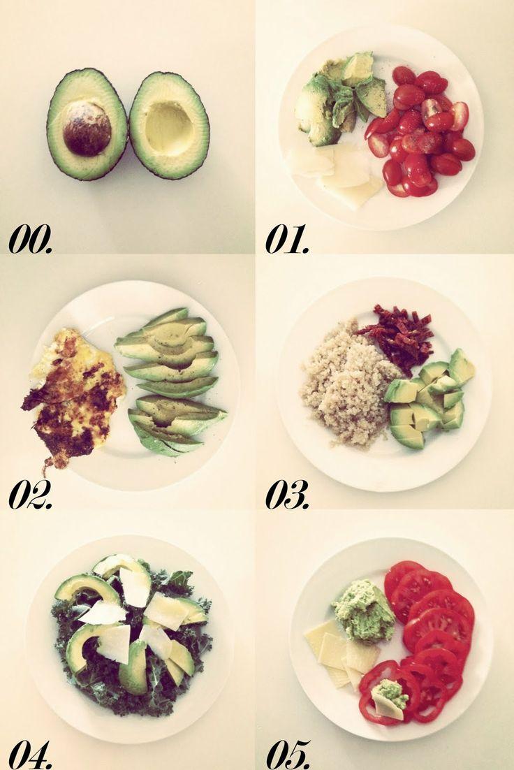 5 ways to eat an avocado