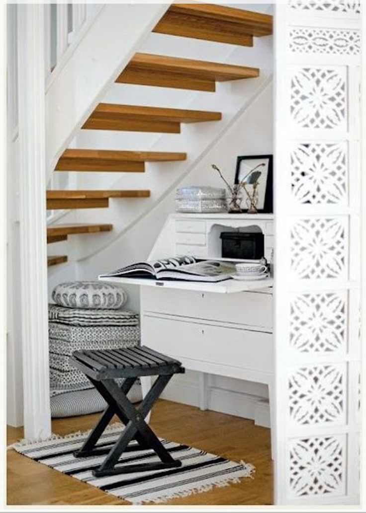 Office Under The Stairs Home Design And Decoration Pinterest