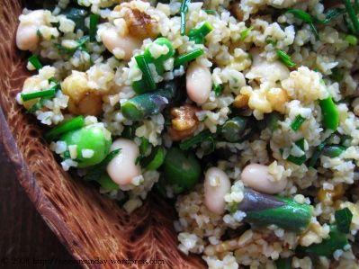 Spring Tabbouleh   Salads   Pinterest