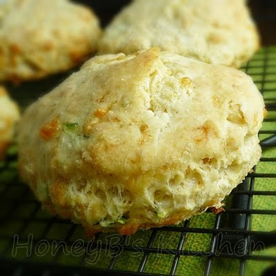 Chipotle Zucchini Cheddar Biscuits | Apron Occasions | Pinterest