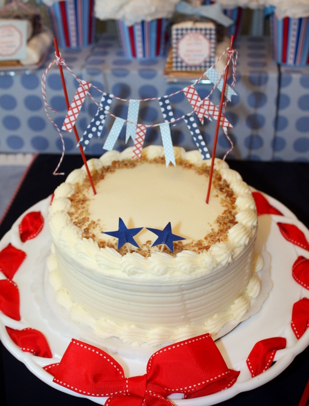 Great 4th Or Memorial Cake Idea 4th Of July Memorial Day Picnic Pa
