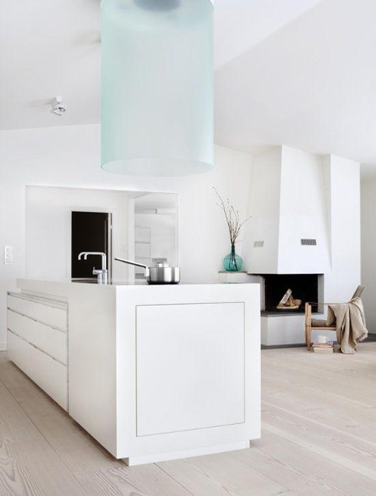 Modern Scandinavian Kitchen To Live Pinterest