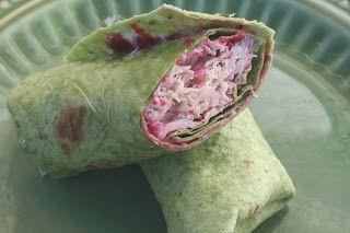 Turkey Wrap - Oh Sweet Basil
