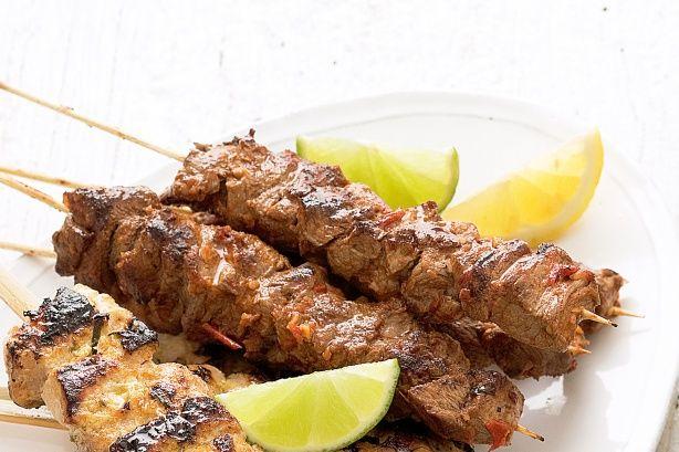 Harissa beef skewers   Ahla w Sahla in Lebanon!   Pinterest