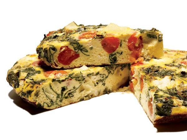 10 Amazing Breakfast Casseroles: Greek-Style Frittata http://www ...
