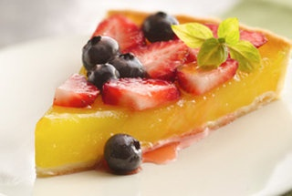 Luscious Berry Lemon Tart | Recipes/Food/Drinks | Pinterest