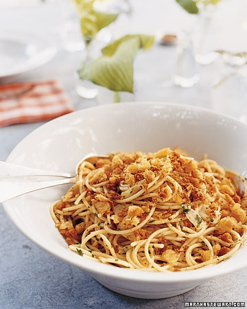 Bottarga Pasta - Martha Stewart Recipes