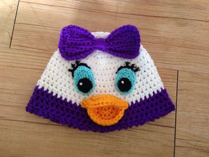Daisy Crochet Baby Hat Pattern : Pin by Melissa Keith on Crochet ideas Pinterest