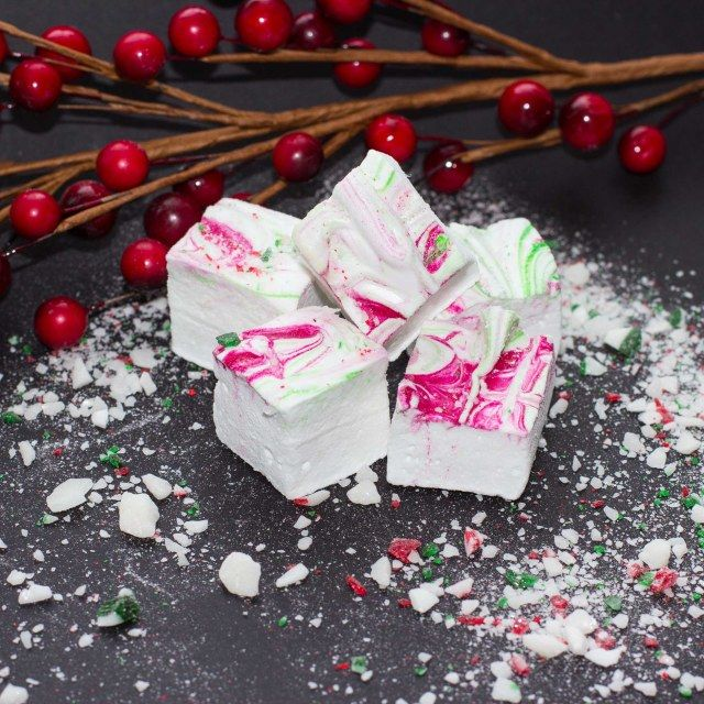 Pink Peppermint Swirl Marshmallows Recipes — Dishmaps