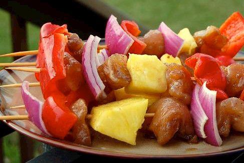 Hawaiian Chicken Kabobs | Recipes to Try | Pinterest
