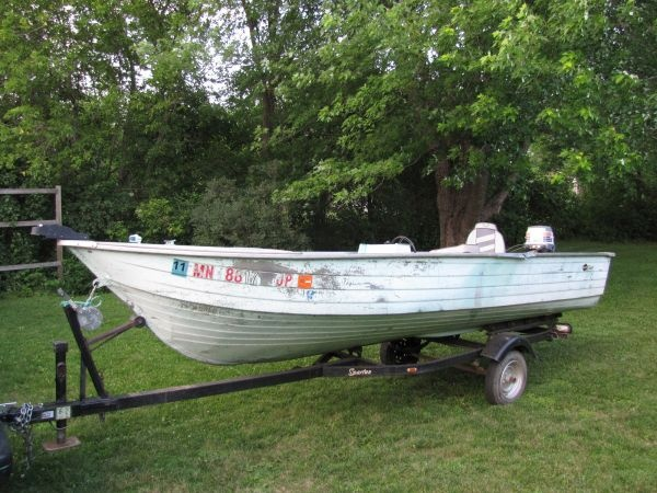 1976 mirrocraft fishing boat fish painting pinterest for Craigslist used fishing boats