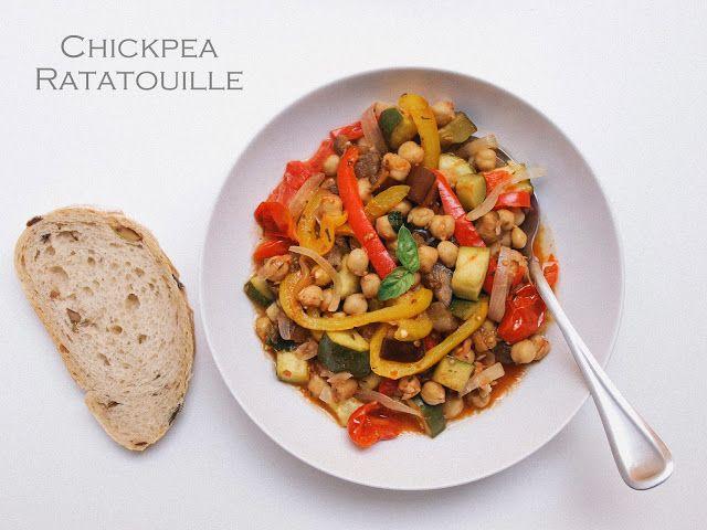 THE SIMPLE VEGANISTA: Chickpea Ratatouille Niçoise
