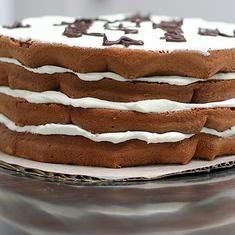 Lighter-than-air Chocolate Cake (via foodily.com)